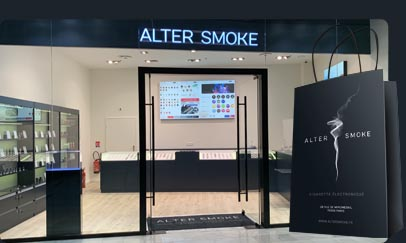 Boutique Alter Smoke à Villeneuve-la-Garenne Centre Commercial Qwartz