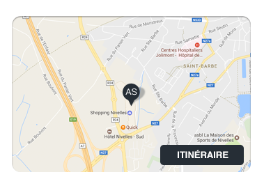 Itinéraire vers AlterSmoke Nivelles Shopping (1400)
